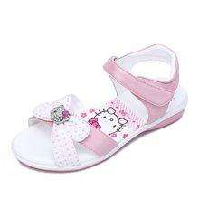 Hello Kitty童鞋凯蒂猫女童公主凉鞋2017夏季新款儿童沙滩鞋女孩学生鞋K7625810