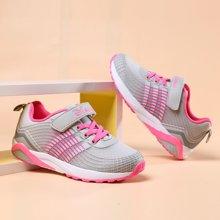 小叮当女童运动鞋新品儿童休闲运动鞋中童学生跑步鞋潮鞋D683721