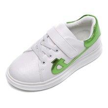 小叮当新款小白鞋儿童运动鞋女童休闲板鞋春秋男童跑步鞋DC60659/759