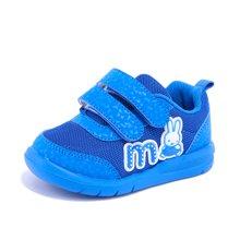 Miffy米菲童鞋男童女童2017新款儿童运动鞋中小童休闲帆布鞋AC006
