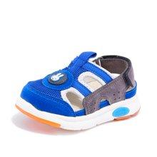 Miffy米菲儿童凉鞋男童夏季2017新款女童宝宝机能鞋1-3岁包头凉鞋AX005