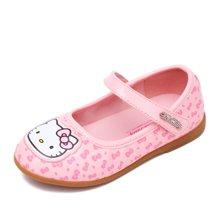 HELLO KITTY童鞋女童2017秋季新款公主鞋女童皮鞋学生皮鞋浅口单鞋K7638804