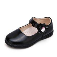 HELLO KITTY童鞋女童2017秋季新款公主鞋女童皮鞋学生皮鞋K7638850