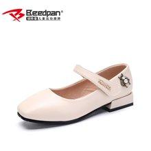 彼得潘女童皮鞋 新款学生黑色皮鞋女孩公主鞋表演鞋休闲单鞋P7005