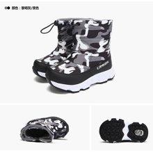 camkids垦牧儿童棉鞋中大童冬季男童靴小童户外女童鞋雪地靴