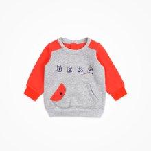 丑丑婴幼 秋冬新款1-4岁男宝宝时尚外出服T恤