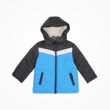 丑丑婴幼冬季新款3—6岁男童棉衣外套可脱帽夹棉衣