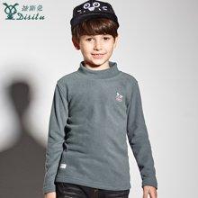 迪斯兔/disitu童装男童休闲T恤儿童纯棉长袖体恤韩版中大童打底衫秋季新款T2052