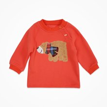 丑丑婴幼 1-4岁男童冬季新款男宝插肩保暖上衣