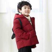 康衣儿男童羽绒服小童款 宝宝羽绒服男2-4-6岁 送同款小背包