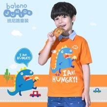 Baleno/班尼路 男童纯棉圆领卡通T恤 82701219