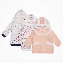 丑丑婴幼 新款冬季婴幼儿卫衣 可爱保暖卫衣