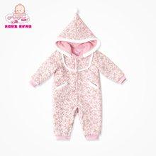 丑丑婴幼婴儿衣服婴儿爬服婴儿连体衣春季宝宝哈衣保暖加绒爬服