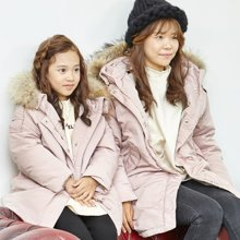 康衣儿羽绒服亲子装新款中大儿童女童羽绒服母女装冬季韩版宽松