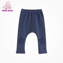 丑丑婴幼新款男童服装婴儿裤子纯棉宝宝百搭哈伦抓绒长裤