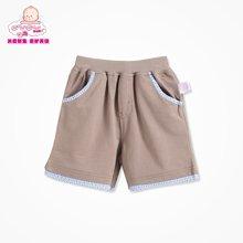 丑丑婴幼 夏季新款男宝宝休闲时尚针织短裤 1-4岁