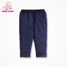 丑丑婴幼男童保暖棉裤 时尚男宝宝外服休闲裤 1岁-4岁