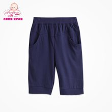 丑丑婴幼 男童夏款休闲运动外穿裤 针织中裤夏装 6个月-4岁