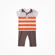 丑丑婴幼 新款夏季男童短袖套装男女宝宝衣服儿童服装