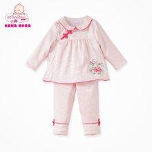 丑丑婴幼新年装女童女宝宝新年中国风唐装喜庆吉祥宝宝新年套装