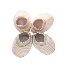 班杰威尔纯棉秋冬婴儿护脚套(2件装,颜色随机发货)