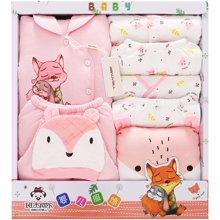 班杰威尔14件套秋冬季婴儿衣服新生儿礼盒加厚保暖初生满月宝宝棉衣套装母婴用品