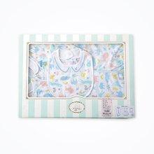 丑丑婴幼新生婴儿礼盒4件套春季新品男女宝宝满月礼盒套装