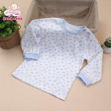 丑丑婴幼春季新款男女宝宝6个月-2岁中性纯棉套头上衣家居服内衣