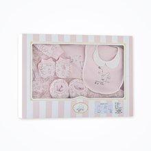 丑丑婴幼新生婴儿礼盒四件套春季新品男女宝宝精品四件套礼盒套装