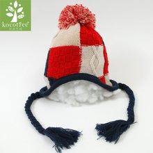 KK树新款儿童冬天帽子小孩帽子男童女童保暖毛线套头帽2-4-8岁潮  KQ15377