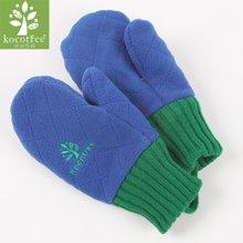 kk树新款儿童手套冬保暖加绒五指秋冬小孩手套宝宝连指手套男女童      KQ12056