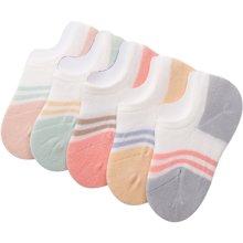 KK树新款儿童袜子夏薄款男女童船袜宝宝网眼袜透气隐形3-5-7-9岁       KQ17052