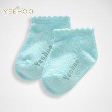 YEEHOO/英氏 宝宝男女宝宝春夏薄款短袜子 NA41110-08-3