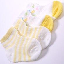 丑丑婴幼婴儿袜2017夏季新款新生儿宝宝袜婴童袜子两件装0-6个月