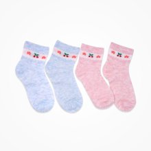 丑丑婴幼 儿童短袜宝宝袜子婴童短袜2件装1-3岁
