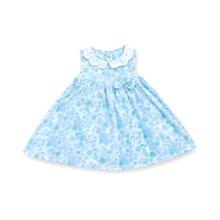 丑丑婴幼女童圆领连衣裙夏季新款1-3岁女宝宝公主碎花连衣裙