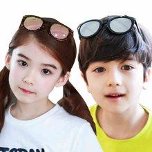 KK树2017年新款儿童眼镜男童女童太阳镜防紫外线小孩时尚个性墨镜  KQ16139