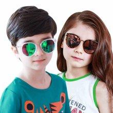 KK树2017年新款儿童太阳镜宝宝眼镜可爱女童个性墨镜男童遮阳镜潮  KQ16140