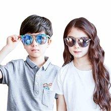 KK树新款儿童眼镜墨镜潮男女童太阳镜个性可爱防紫外宝宝眼镜墨镜   KQ27211