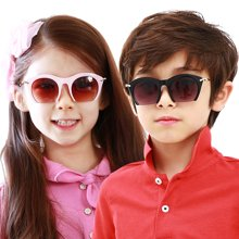 kk树时尚儿童太阳镜儿童眼镜宝宝眼镜儿童太阳镜女儿童墨镜女童潮     KQ14093