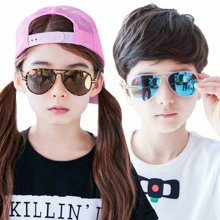 KK树2017年新款儿童太阳镜轻版个性男童女童墨镜宝宝眼镜2-12岁潮  KQ27204