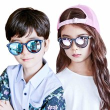 KK树2017年新款儿童眼镜墨镜潮男女童偏光太阳镜个性舒适宝宝墨镜   KQ16184