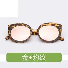 kk树防紫外线儿童眼镜墨镜个性小孩太阳镜女童夏季防晒宝宝太阳镜     KQ27209