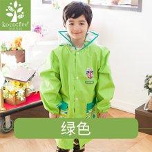 KK树儿童雨衣男童带书包位女童雨衣幼儿园宝宝雨披小学生雨衣加厚 KQ15438  包邮