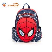 camkids垦牧双肩包儿童幼儿园背包卡通漫威系列蜘蛛侠小学生书包