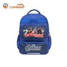 camkids垦牧书包小学生1-3岁男童双肩包1-2年级儿童背包漫威书包