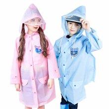 KK树儿童雨衣男女童带书包位小学生时尚防水雨披幼儿园宝宝雨衣潮  KQ16137