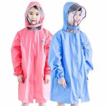 KK树儿童雨衣男女童小学生宝宝雨披带书包位幼儿小孩雨衣加厚时尚  KQ17001