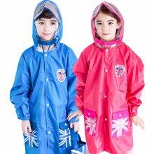 KK树儿童雨衣男童带书包位女童雨衣幼儿园宝宝雨披小学生雨衣加厚  KQ15438