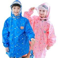 KK树新款儿童雨衣男女童卡通时尚幼儿园防水小孩雨衣小学生雨披潮  KQ17041